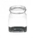 Glass jar, screwable 128ml - Bišulietas.lv