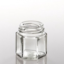 Glass jar, screwable 47ml - Bišulietas.lv